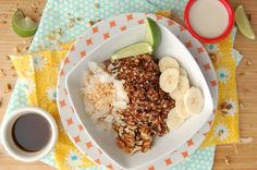 Whole Food Plant Based Breakfast   Coconut Lime Quinoa Breakfast Bowl