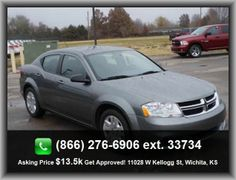 2012 Dodge Avenger SE Sedan   Diameter Of Tires: 17.0, Urethane Shift Knob Trim, Bucket Front Seats, Tire Pressure Monitoring System, Power Remote Passenger Mirror Adjustment, Remote Activated Exterior Entry Lights,