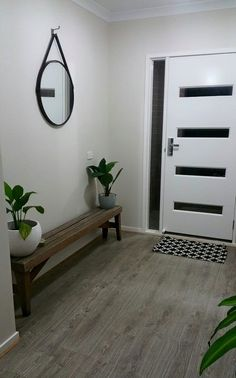 A gorgeous, stylish and simple entry way from the KMart addicts support group