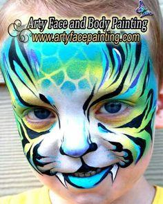 Colorful cat #facepaint