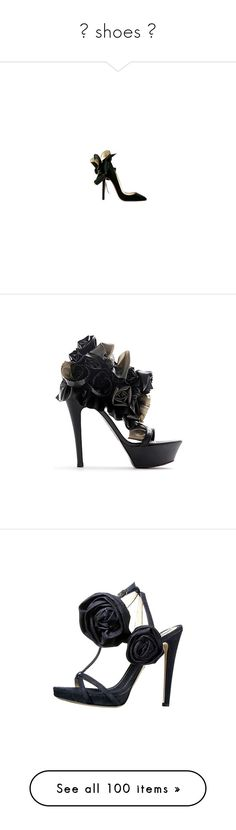 """""""❤ shoes ❤"""" by jessica1222 ❤ liked on Polyvore featuring shoes, pumps, heels, zapatos, sapatos, black, heel pump, black pumps, kohl shoes and black heeled shoes"""