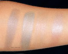 Click through to see more pictures and swatches and to hear my review of the limited edition NARS Hardwired Eyeshadows.
