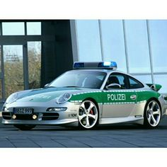 Porsche 911 Polizei Germany