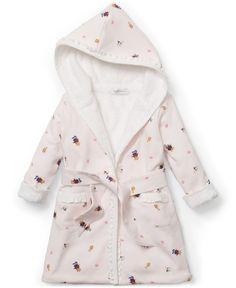 Ralph Lauren Baby Girls  Bathrobe Kids - Pajamas - Macy s fcb143adc