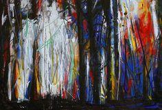 "Saatchi Art Artist Rolf Jansson; Painting, ""Forest 2"" #art"