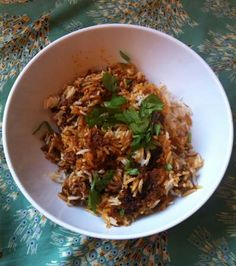 This lamb biryani produces 'sensational leftovers', according to @misscay! #GROWmethod #recipe