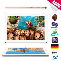 Ebay Angebot 10.1'' Zoll Tablet PC 3G Handy Android 4.4 Quad Core Dual SIM 1GB+16GB+32GBIhr QuickBerater