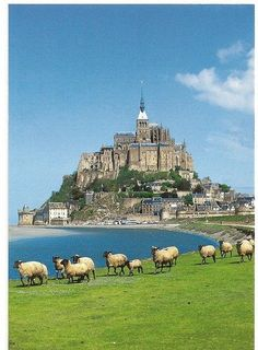 Mont Saint Michel, Normandy, France . #GeorgeTupak