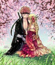 Fairy Tail Nalu (Natsu and Lucy) Fairy Tail Lucy, Fairy Tail Nalu, Fairy Tail Ships, Rog Fairy Tail, Fairy Tail Amour, Fairy Tail Guild, Manga Anime, Film Anime, Anime Kiss