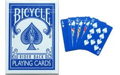 Bicycle The Blue Deck Playing Cards. #playingcards #poker #games