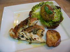 Cuisine en folie: #Poulet rôti contisé aux fines herbes, #gingembre et #piment d'Espelette