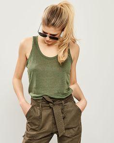 ΑΜΑΝΙΚΟ TOP Casual Shorts, Spring Summer, Collection, Tops, Fashion, Moda, Fashion Styles, Fashion Illustrations