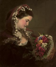 A Victorian Bouquet, William Powell Frith. English (1819-1909)
