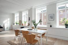 åpent hus: Svensk byleilighet / Swedish city living