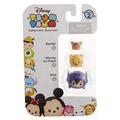 TSUM TSUM 3 Pack Series 1 2 3 Collection Figures New in box