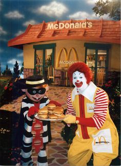 It's National Hamburger Day & the McDonald's Hamburglar has escaped & is on the loose. Guard your burger with your life. More at GotMyHappy.com