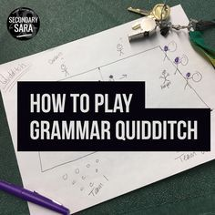 Blog Post - how to play grammar quidditch, a low-prep active learning game to get students outside (or inside!)