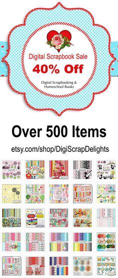 40% Off Storewide Digital Scrapbook Sale