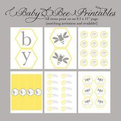 bumblebee theme printables