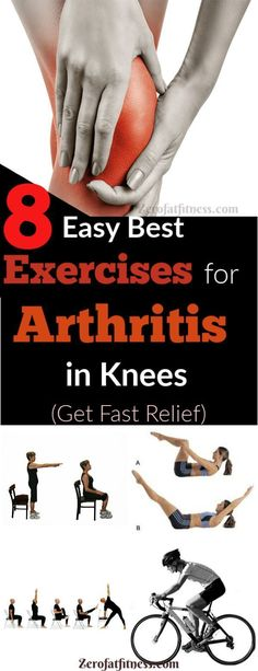 8 Easy Best Exercises for Arthritis in Knees (Relief Joint Pain). How to Get Rid of Arthritis fast at Home Original article and pictu. Rheumatische Arthritis, Rheumatoid Arthritis Treatment, Arthritis Relief, Arthritis In Knees, Exercise For Arthritis, Knee Arthritis Symptoms, Knee Arthritis Exercises, Gout Relief, Knee Osteoarthritis