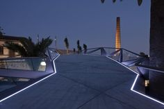 Guallart Architects + Gijón Arquitectura || Motril Footbridge (Granada, España) || 2011