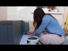 Restoring Floorboards without Hiring a Professional Floor Sander - Kezzabeth Pallet Seating, Pallet Sofa, Pallet Furniture, Building A Barn Door, Building A Deck, Wood Floor Restoration, Diy Dining Room Table, Build A Farmhouse Table, Cozy Backyard