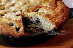 Blueberry Skillet Cake from The Kitchen Whisperer