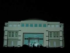 3D Projection mapping at BITS Pilani, Goa By DreamPoint Animations (Pune)  #ProjectionMapping