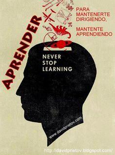 20° Aprender - Para mantenerte dirigiendo, mantente aprendiendo.