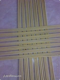 La compensación entre productos de la artesanía no es mi idea de la paja de papel de periódico 1 foto