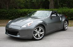 Nissan 370Z Touring Convertible. Z's are fun to drive.