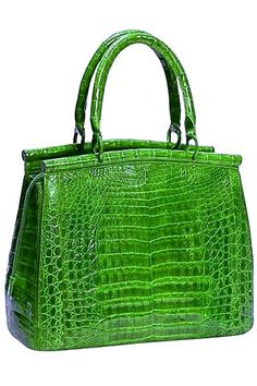 353e59105323 Green crocodile bag for women Crocodile Handbags