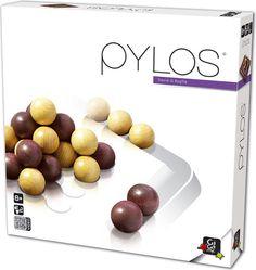 Wciągająca gra dla 2 osób. To jedna z tych gier, gdzie proste zasady umożliwiają granie dziesięcioletniemu dziecku i jednocześnie dają pole do popisu osobom dorosłym! Co więcej gra oferuje kilka wariantów zasad, które pozwalają dostosować grę do wieku graczy jak i ich upodobań.       Pylos spodoba się z pewnością fanom gry Abalone, GO, czy...