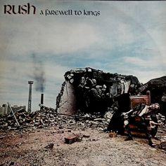 Rush – A Farewell To Kings  Quinto álbum de estúdio da banda canadense de rock progressivo Rush, lançado em 1977. Foi gravado no Rockfield Studios no País de Gales, e mixado no Advision Studios, em Londres. A Farewell To Kings se tornaria o primeiro disco de ouro do Rush vendido nos Estados Unidos, recebendo a certificação dois meses depois de seu lançamento, e posteriormente veio a ser disco de platina.