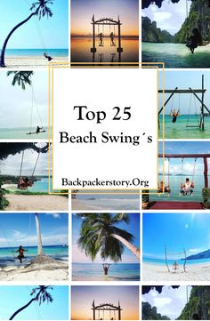 The Essential Beach Travel Guide. Travel is one of those things which helps you to grow as an individual. It enhances your understanding of things and helps you see the marvel and charm of Travel Goals, Us Travel, Travel Plan, Vietnam Travel, Cambodia Travel, Thailand Travel, Swing Pictures, Beach Swing, Hawaii Travel Guide