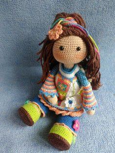 Irresistible Crochet a Doll Ideas. Radiant Crochet a Doll Ideas. Crochet Doll Clothes, Knitted Dolls, Crochet Dolls, Crochet Doll Pattern, Crochet Patterns Amigurumi, Amigurumi Doll, Cute Crochet, Crochet Baby, Knit Crochet
