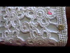 DIY - Fiore simil D&G uncinetto - Crochet flower - YouTube