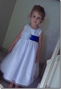 Laney's flower girl dress
