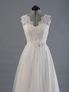 Spitzen-Brautkleid Hochzeitskleid Brautkleid von ELDesignStudio