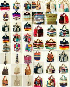 Crochet Handbags Crochet bag by Nok's When my passion talks with my hand Diy Crochet And Knitting, Crochet Shell Stitch, Freeform Crochet, Crochet Handbags, Crochet Purses, Crochet Bags, Crochet Market Bag, Yarn Bag, Patchwork Bags