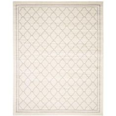 Safavieh Amherst Beige/Light Grey 8 ft. x 10 ft. Indoor/Outdoor Area Rug-AMT422E-8 - The Home Depot