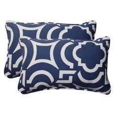 Pillow Perfect Carmody Rectangular Throw Pillow - Set of 2