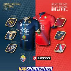 Indumentaria 2019 del Club Deportivo El Nacional 43d571329781a