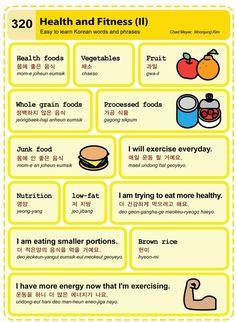 320 Learn Korean Hangul Health and Fitness 2