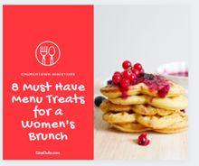 You Deserve a TreatEmailFacebookPinterestTwitter Christian Women's Ministry, Encouragement For Today, You Deserve, Event Planning, Brunch, Menu, Treats, Breakfast, Food