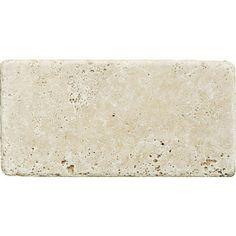 Ivory Tumbled Travertine Tiles