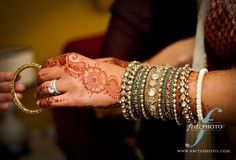 I love the henna they do for indian weddings