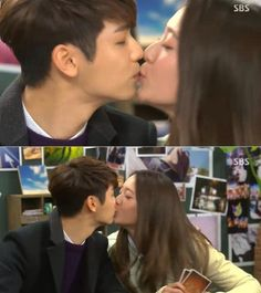 BoNa & Chan Young Kiss in the lips finally in #TheHeirsFinale Ep20. Gonna miss this adorable lively couple