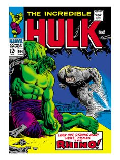 Abominationand rhino vs hulk Marvel | Marvel Comics Retro: The Incredible Hulk Comic Book Cover #104, with ...