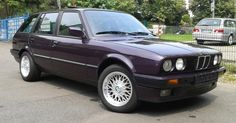 Beautiful But Underpowered BMW 316i Touring Daytona Violet Design Edition For Sale #BMW #BMW_3_Series